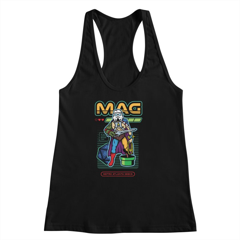 Metro Atlanta Geeks 2018 Women's Racerback Tank by MAG Official Merch