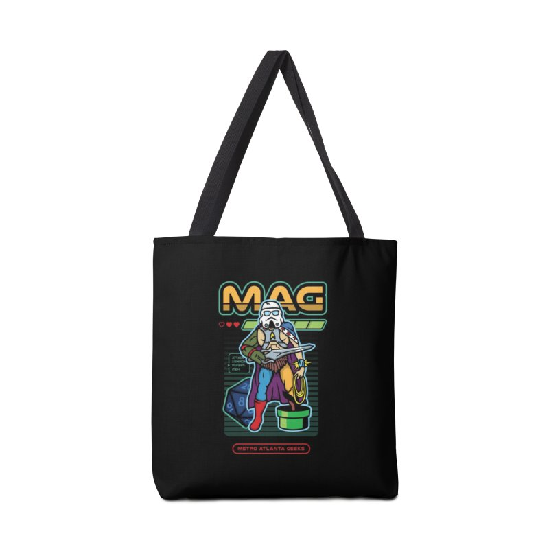 Metro Atlanta Geeks 2018 Accessories Tote Bag Bag by ATL Geek Merch Shop