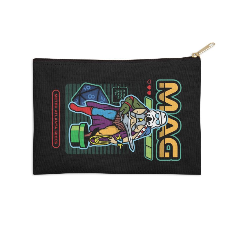 Metro Atlanta Geeks 2018 Accessories Zip Pouch by MAG Official Merch