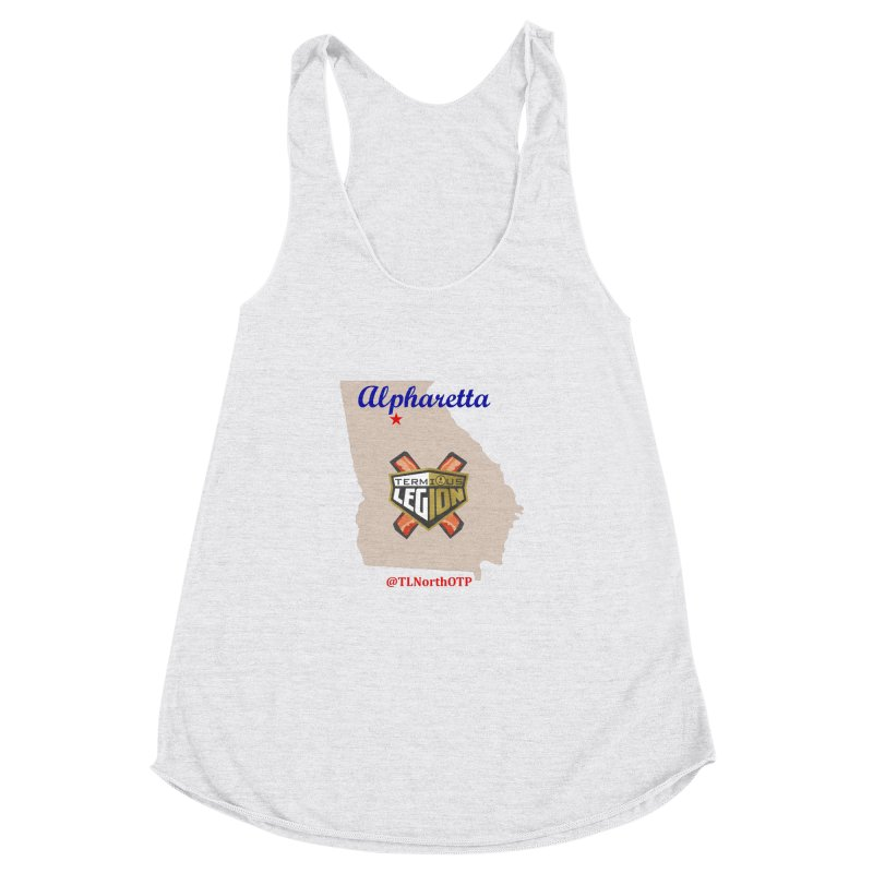 TL:NorthOTP Women's Racerback Triblend Tank by MAG Official Merch