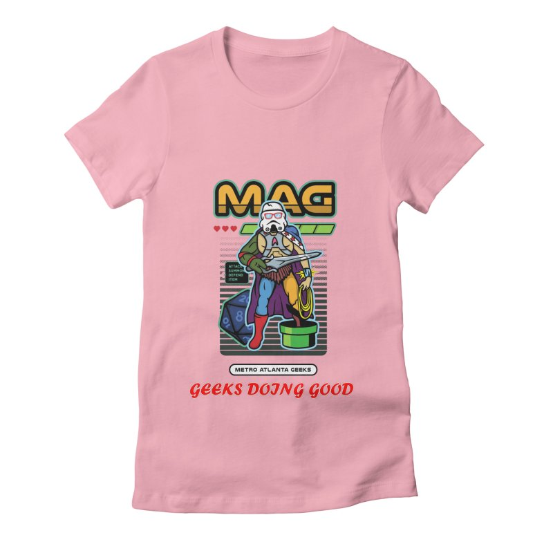2018 PINK Women's Fitted T-Shirt by MAG Official Merch