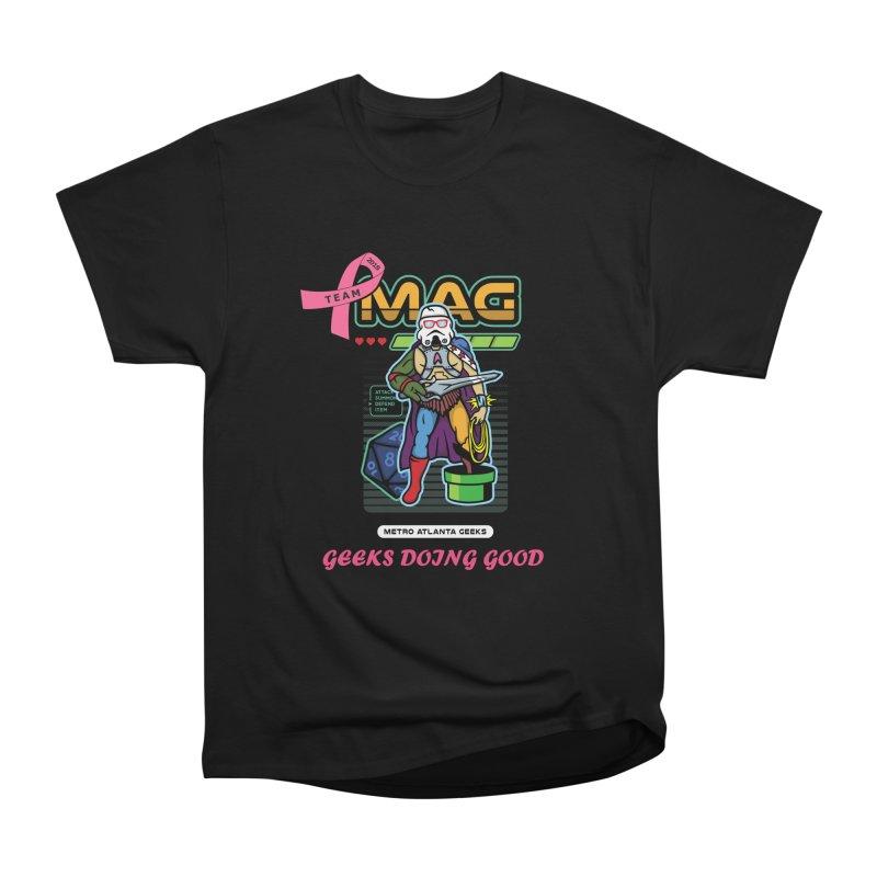 2018 PINK Men's Heavyweight T-Shirt by MAG Official Merch