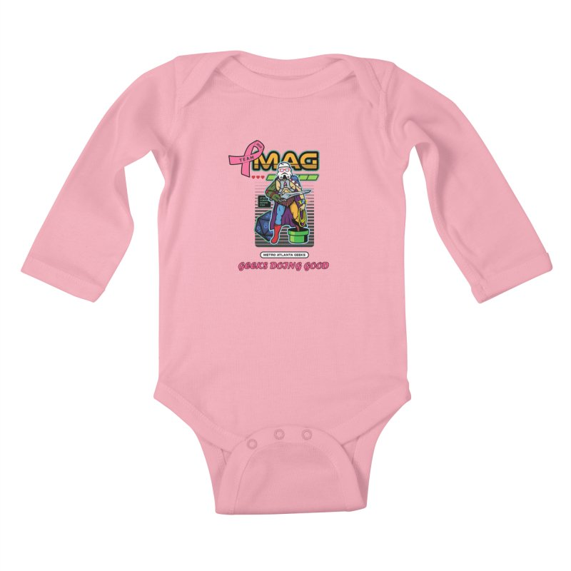 2018 PINK Kids Baby Longsleeve Bodysuit by MAG Official Merch