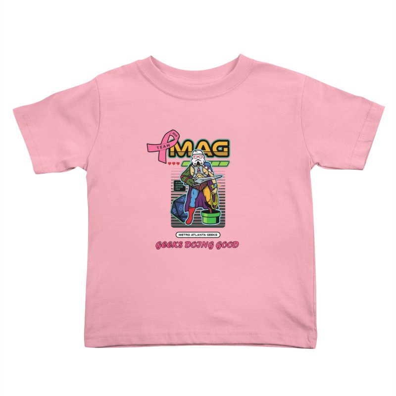 2018 PINK Kids Toddler T-Shirt by MAG Official Merch