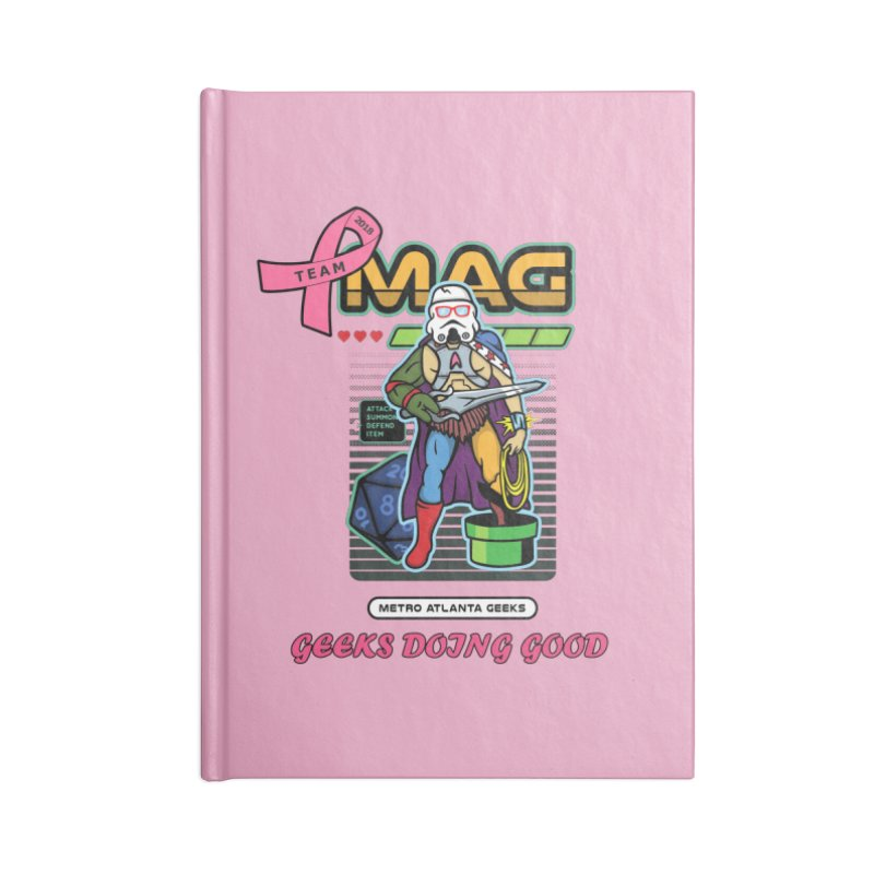 2018 PINK Accessories Lined Journal Notebook by MAG Official Merch