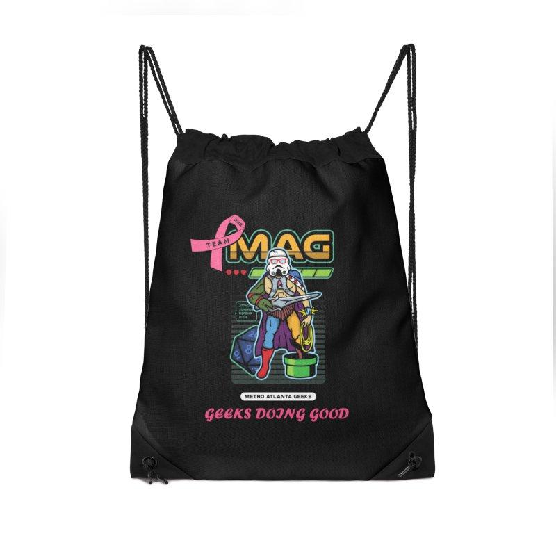 MAG PINK 2018 MUG Accessories Drawstring Bag Bag by MAG Official Merch