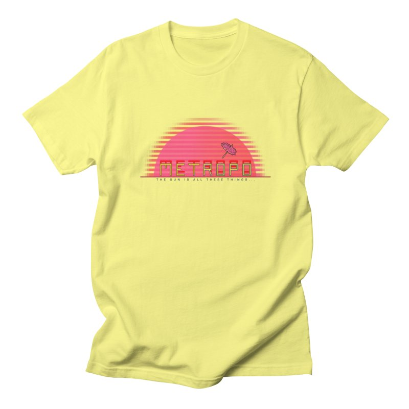 Metropo Sunrise Men's T-Shirt by METROPO the unending city