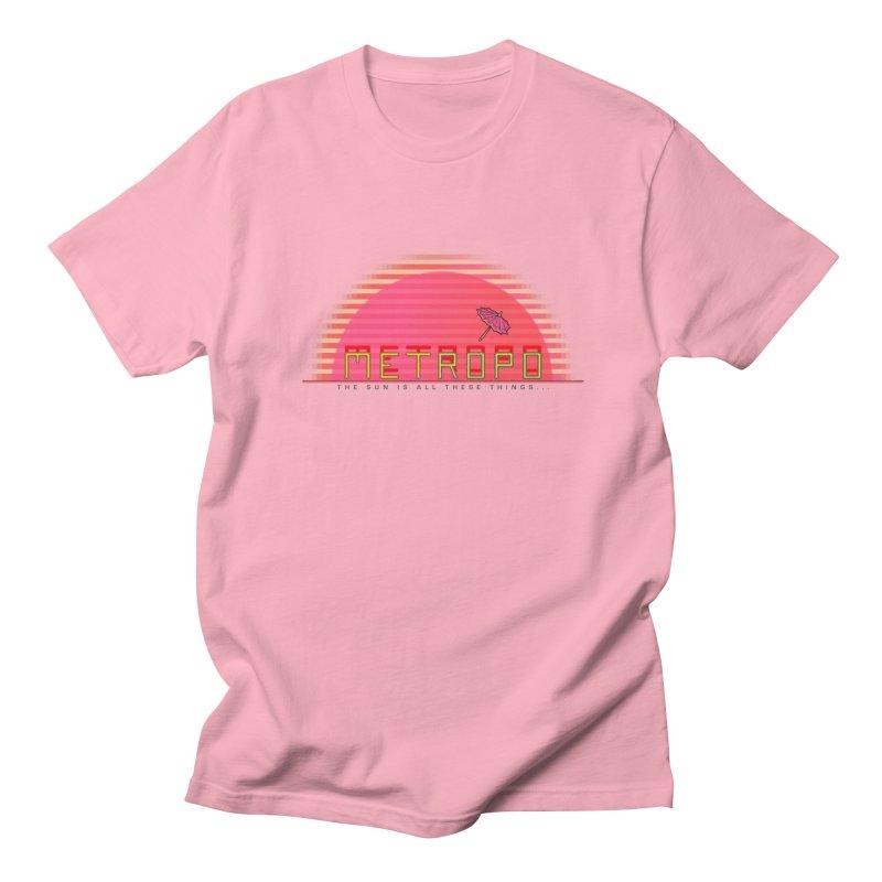 Metropo Sunrise Men's Regular T-Shirt by METROPO the unending city