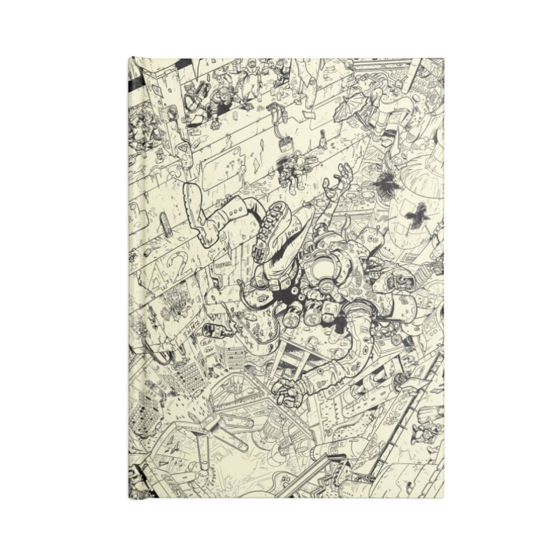 Metropo Raw Art Accessories Notebook by METROPO the unending city