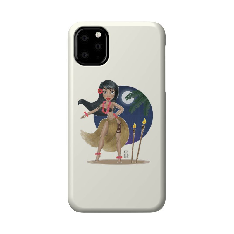 Metro&medio Designs - Hula Dancer Pin-up Accessories Phone Case by metroymedio's Artist Shop