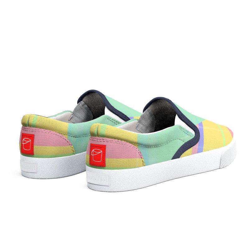 Metro&medio Designs - Wallart Pin-up Men's Shoes by metroymedio's Artist Shop