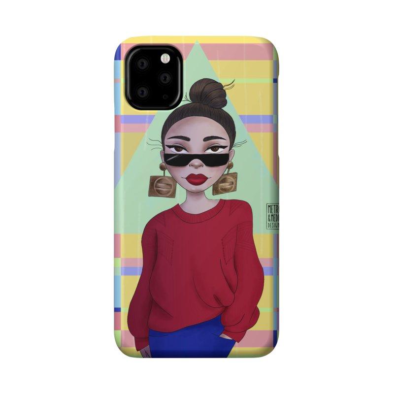 Metro&medio Designs - Wallart Pin-up Accessories Phone Case by metroymedio's Artist Shop