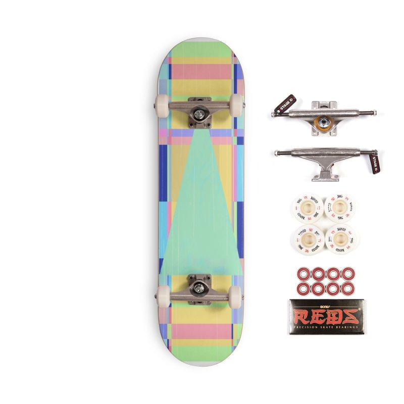 Metro&medio Designs - Wallart Pin-up Accessories Complete - Pro Skateboard by metroymedio's Artist Shop