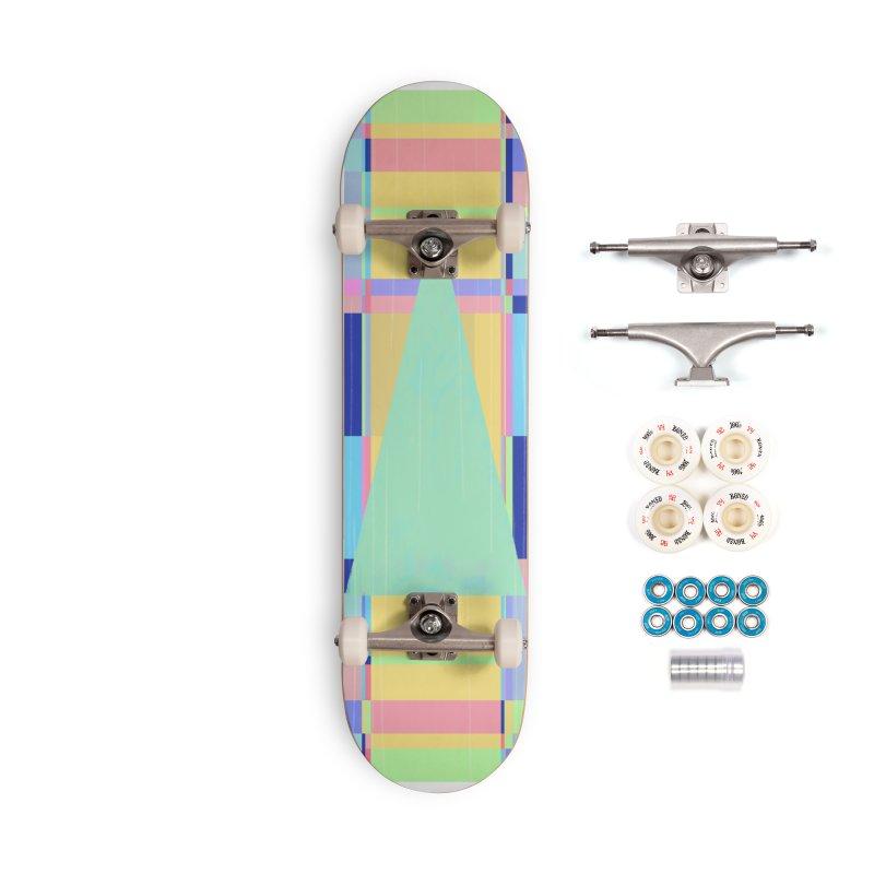 Metro&medio Designs - Wallart Pin-up Accessories Complete - Premium Skateboard by metroymedio's Artist Shop