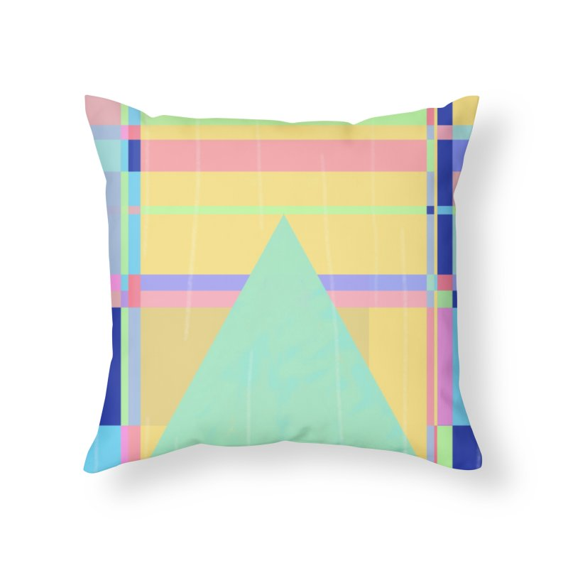 Metro&medio Designs - Wallart Pin-up Home Throw Pillow by metroymedio's Artist Shop