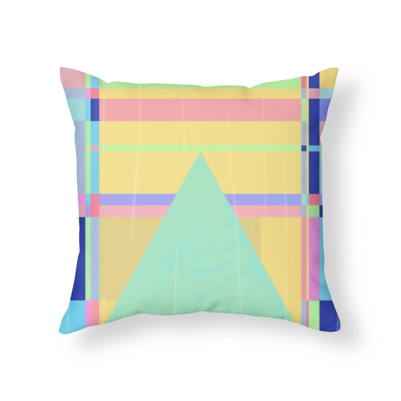 Metro&medio Designs - Wallart Pin-up Home Throw Pillow by metroymedio's Artist Shop