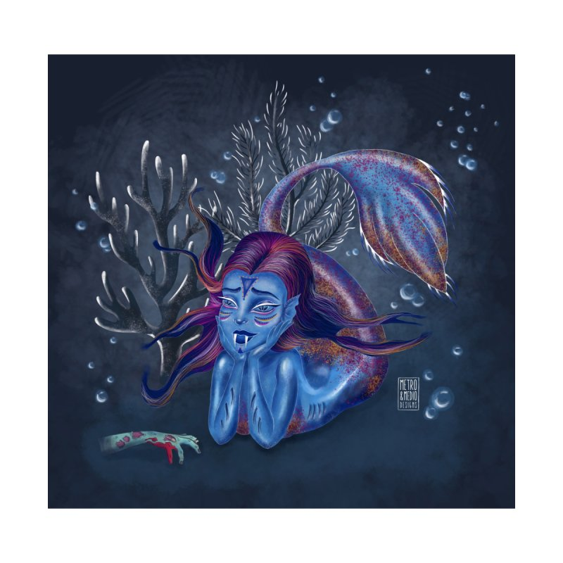 Metro&medio Designs - Blue mermaid by metroymedio's Artist Shop