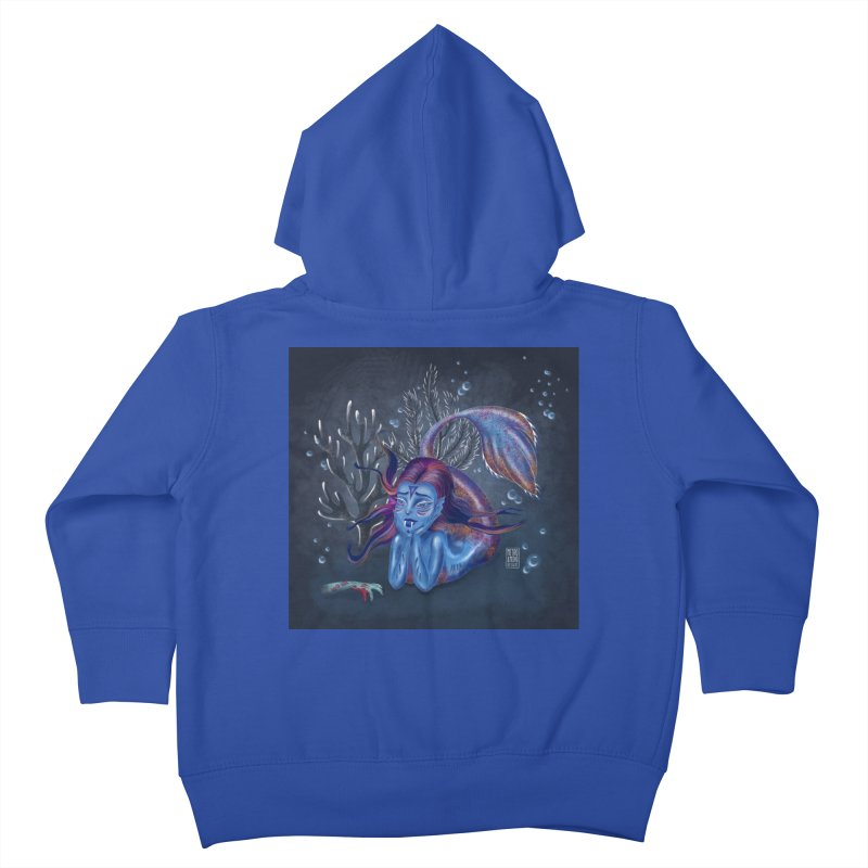 Metro&medio Designs - Blue mermaid Kids Toddler Zip-Up Hoody by metroymedio's Artist Shop