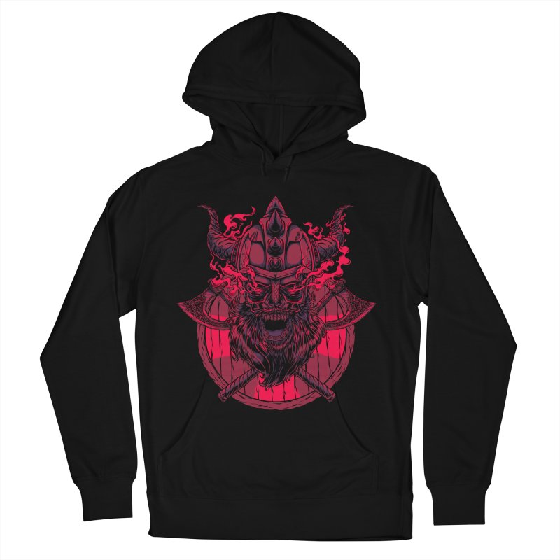 Undead Viking Women's Pullover Hoody by mewtate's Artist Shop