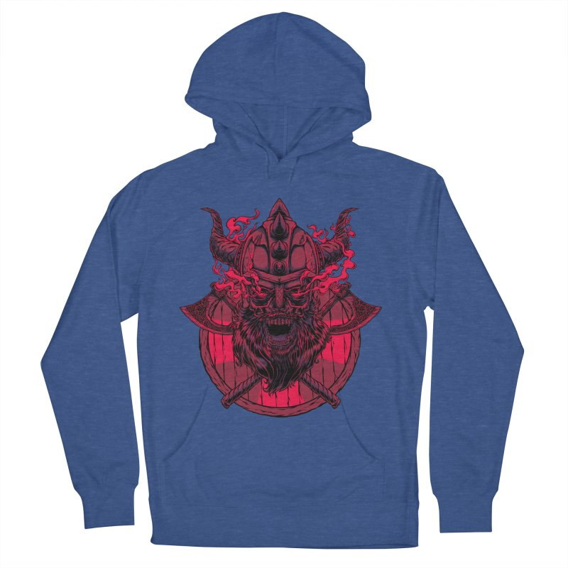 Undead Viking Men's Pullover Hoody by mewtate's Artist Shop
