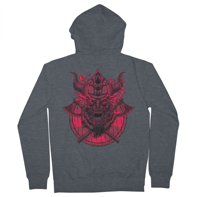Undead Viking Women's Zip-Up Hoody by mewtate's Artist Shop