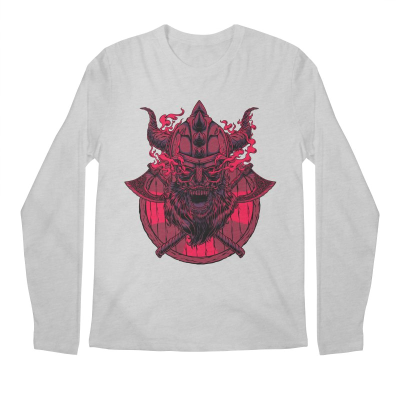 Undead Viking Men's Longsleeve T-Shirt by mewtate's Artist Shop