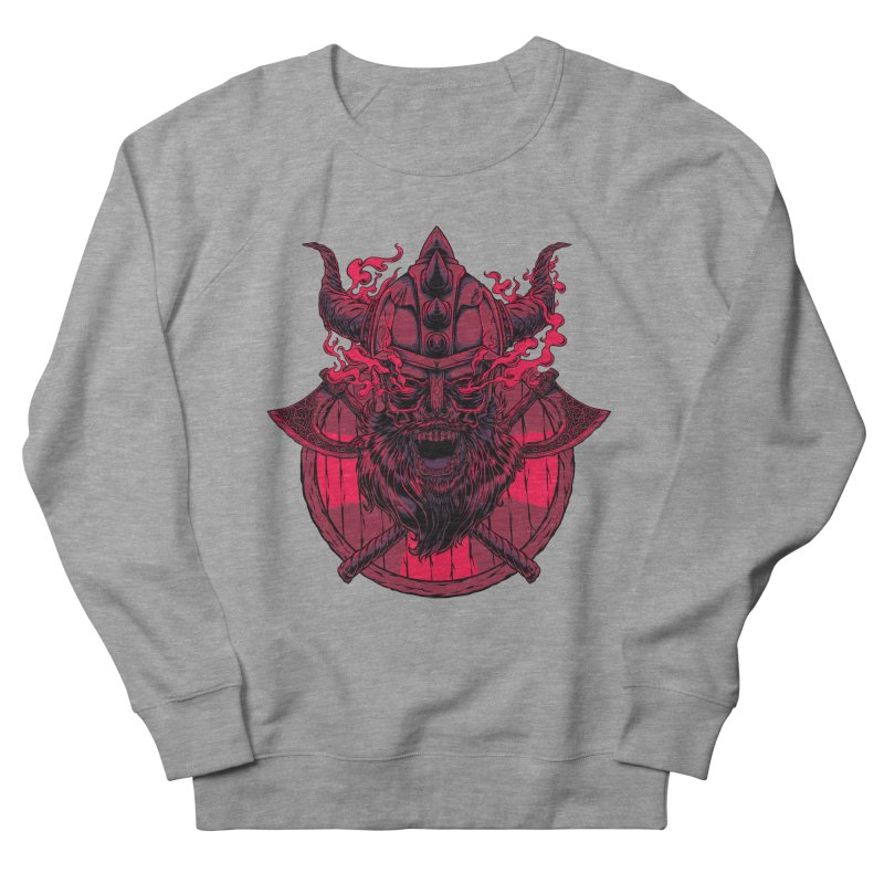 Undead Viking Men's Sweatshirt by mewtate's Artist Shop
