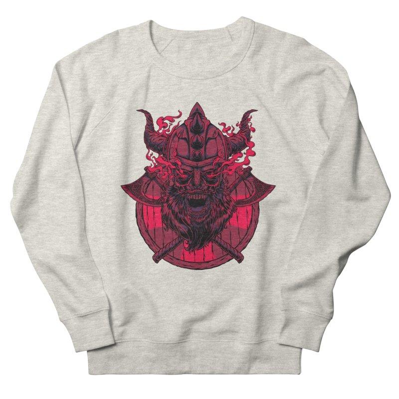 Undead Viking Men's Sweatshirt by mewtate's Artist Shop