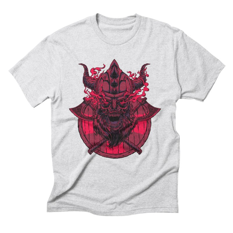Undead Viking Men's Triblend T-Shirt by mewtate's Artist Shop