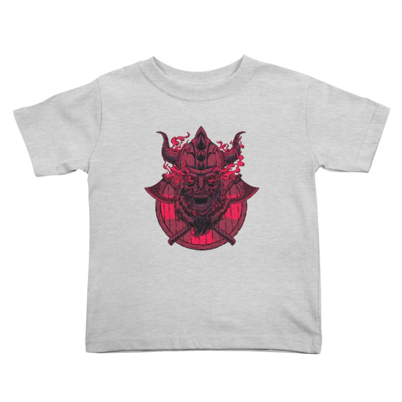 Undead Viking Kids Toddler T-Shirt by mewtate's Artist Shop