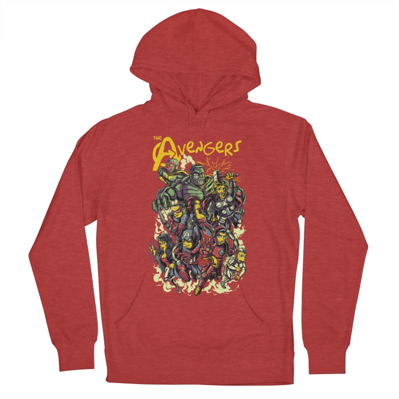 Springfield Avengers Men's Pullover Hoody by mewtate's Artist Shop