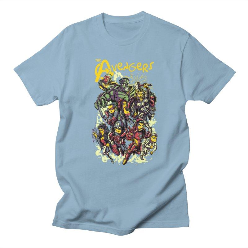 Springfield Avengers Men's T-Shirt by mewtate's Artist Shop