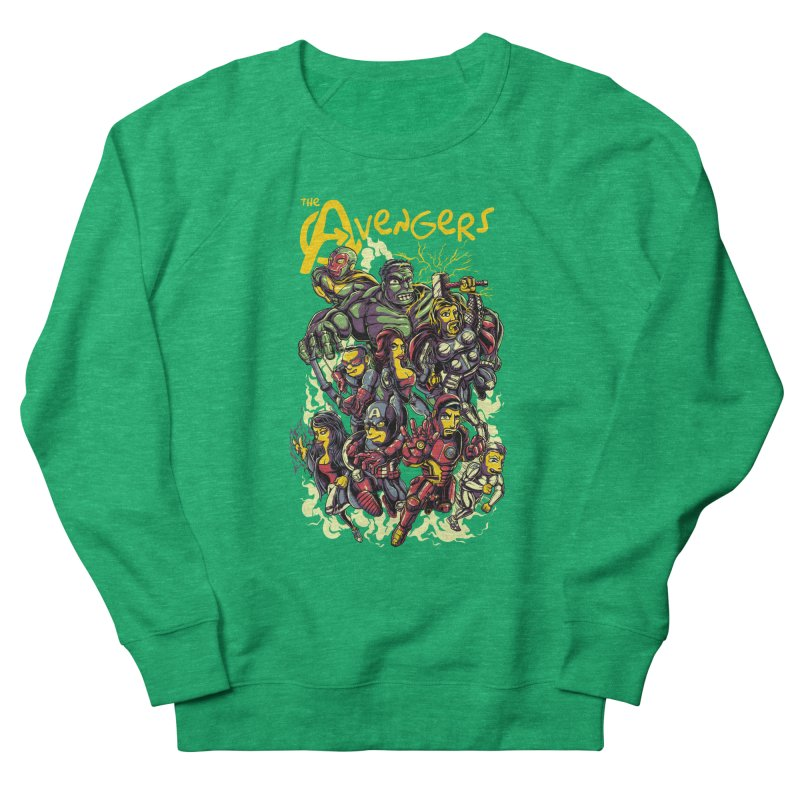 Springfield Avengers Women's Sweatshirt by mewtate's Artist Shop