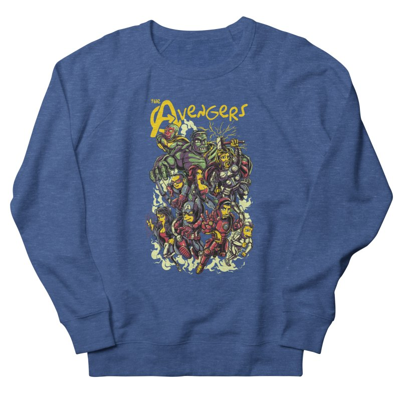 Springfield Avengers Men's Sweatshirt by mewtate's Artist Shop