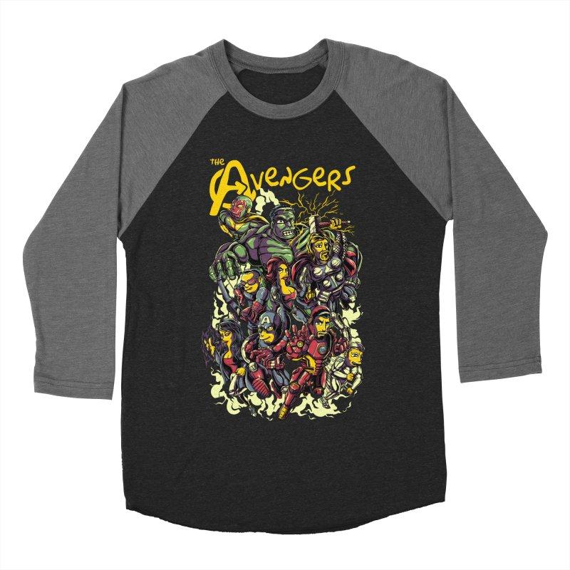 Springfield Avengers Women's Baseball Triblend T-Shirt by mewtate's Artist Shop