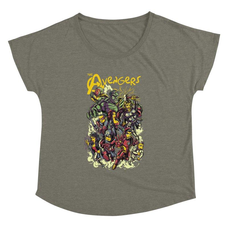 Springfield Avengers Women's Dolman by mewtate's Artist Shop