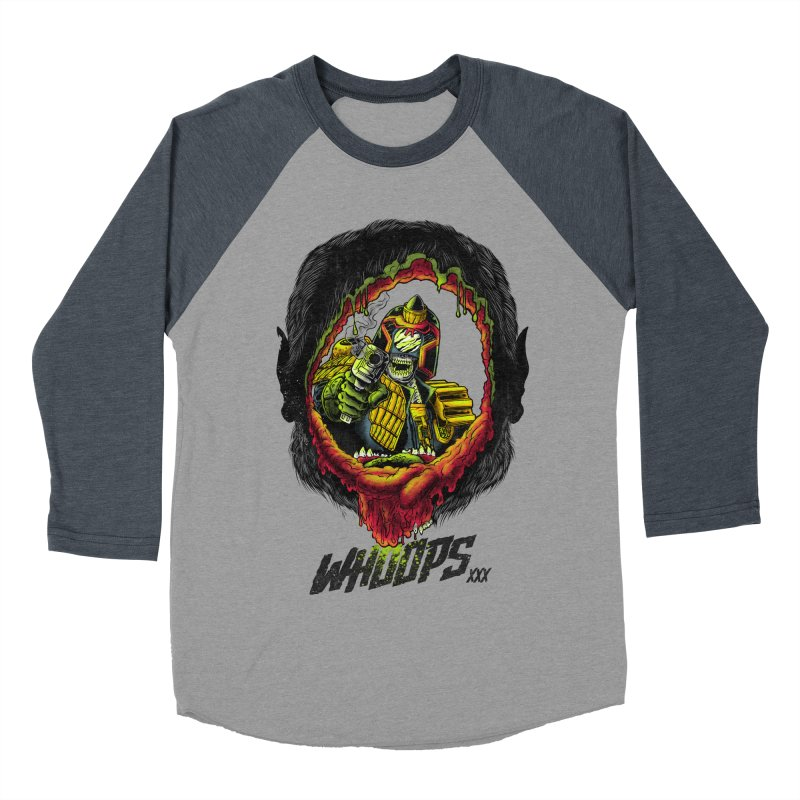 Whoops! Men's Baseball Triblend T-Shirt by mewtate's Artist Shop