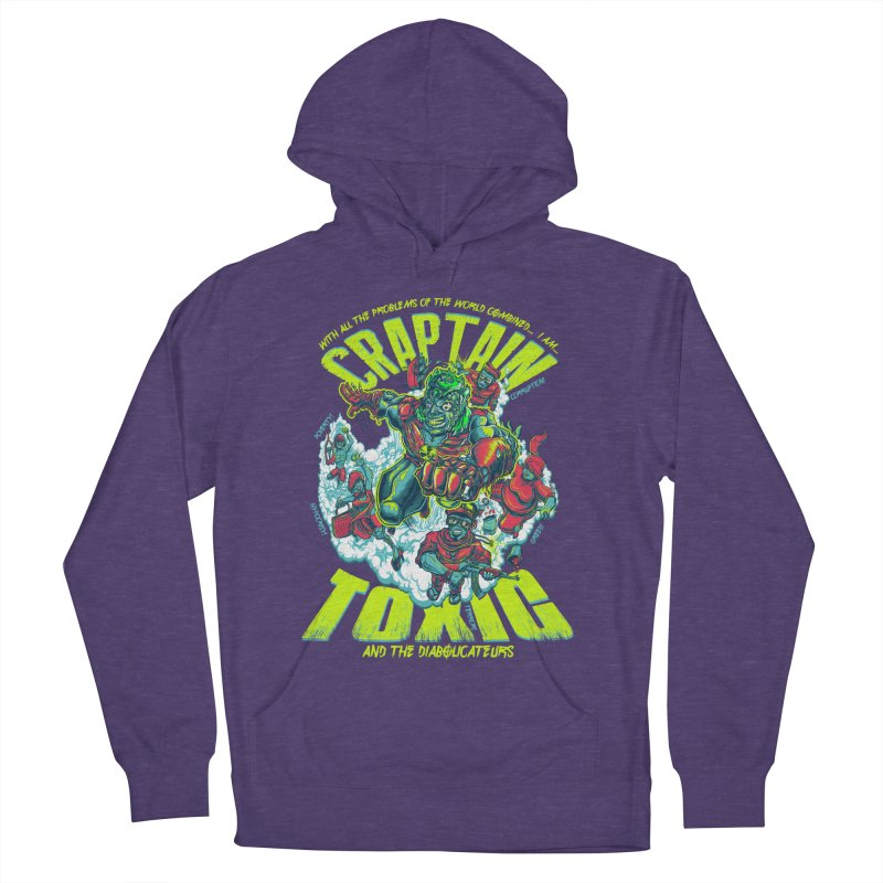Oh Craptain Women's Pullover Hoody by mewtate's Artist Shop