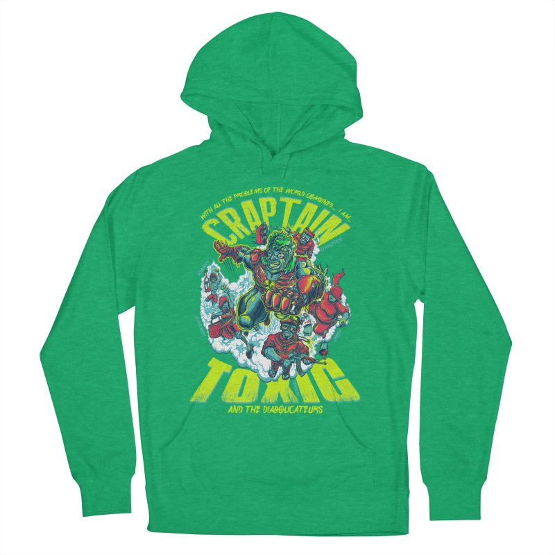 Oh Craptain Men's Pullover Hoody by mewtate's Artist Shop