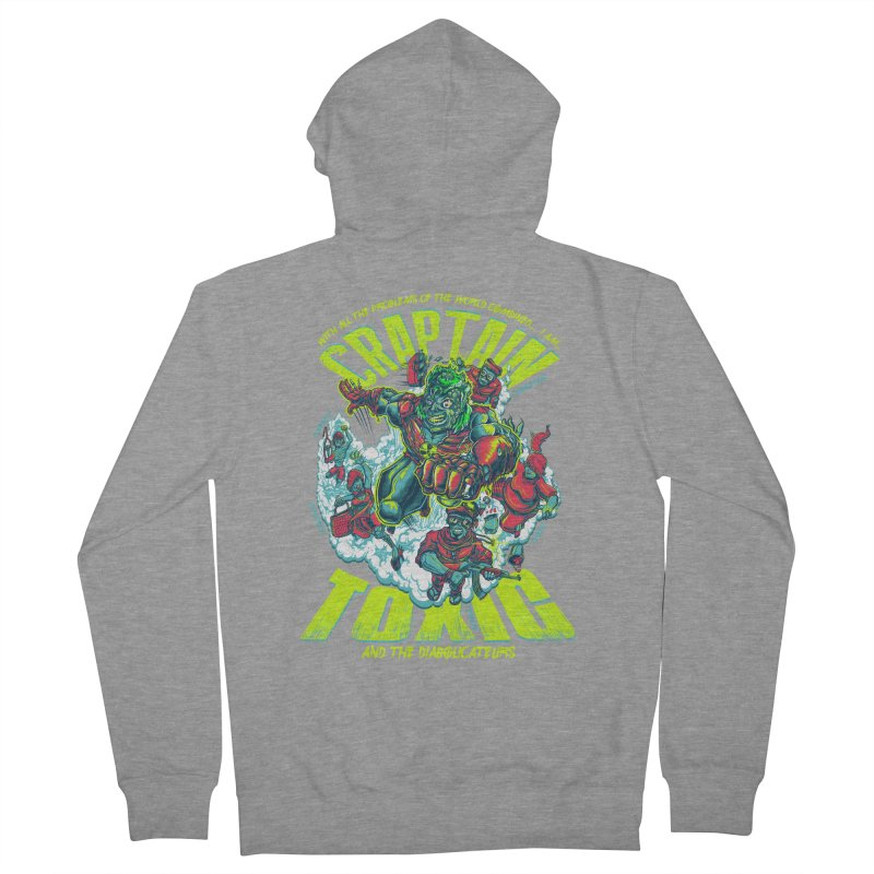 Oh Craptain Women's Zip-Up Hoody by mewtate's Artist Shop