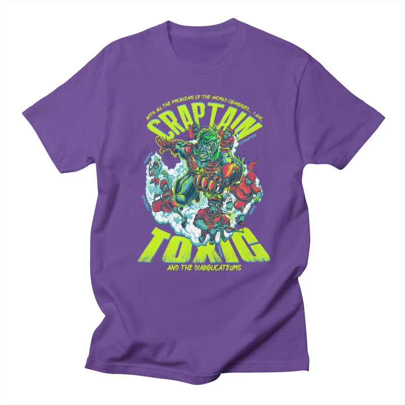 Oh Craptain Men's T-shirt by mewtate's Artist Shop