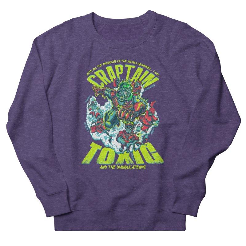 Oh Craptain Women's Sweatshirt by mewtate's Artist Shop