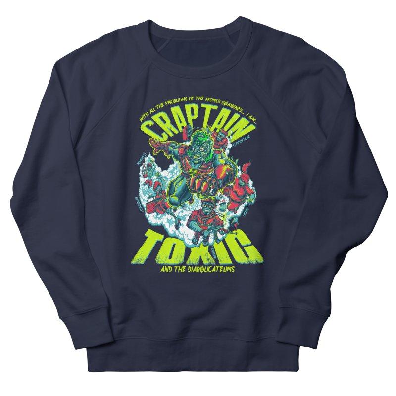 Oh Craptain Men's Sweatshirt by mewtate's Artist Shop