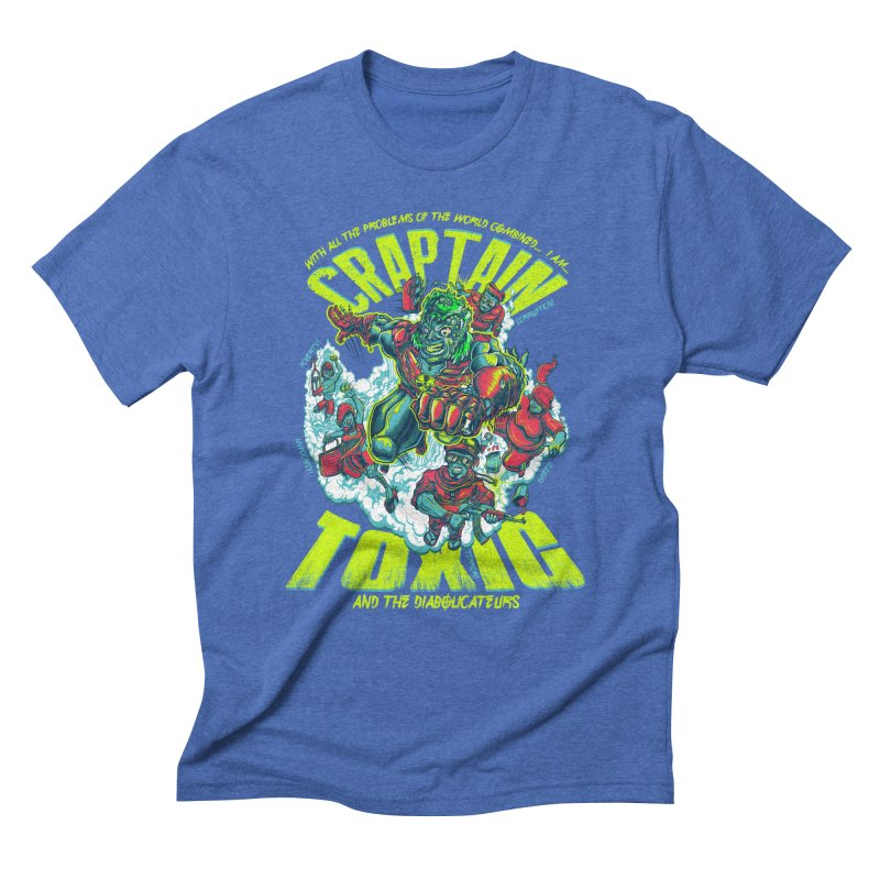 Oh Craptain Men's Triblend T-shirt by mewtate's Artist Shop