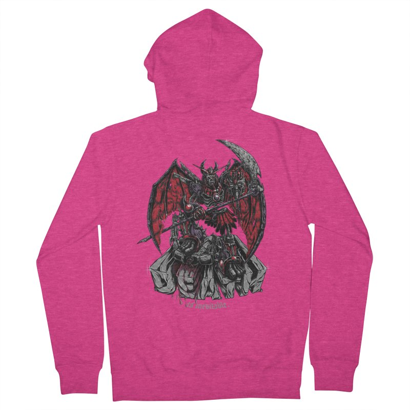 Death Bringer Women's Zip-Up Hoody by mewtate's Artist Shop
