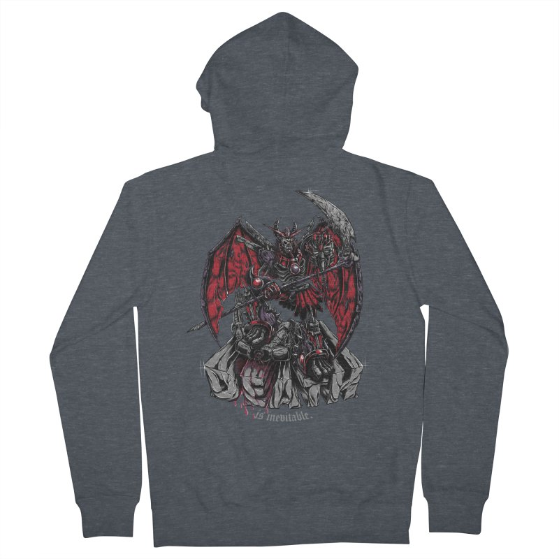 Death Bringer Men's Zip-Up Hoody by mewtate's Artist Shop