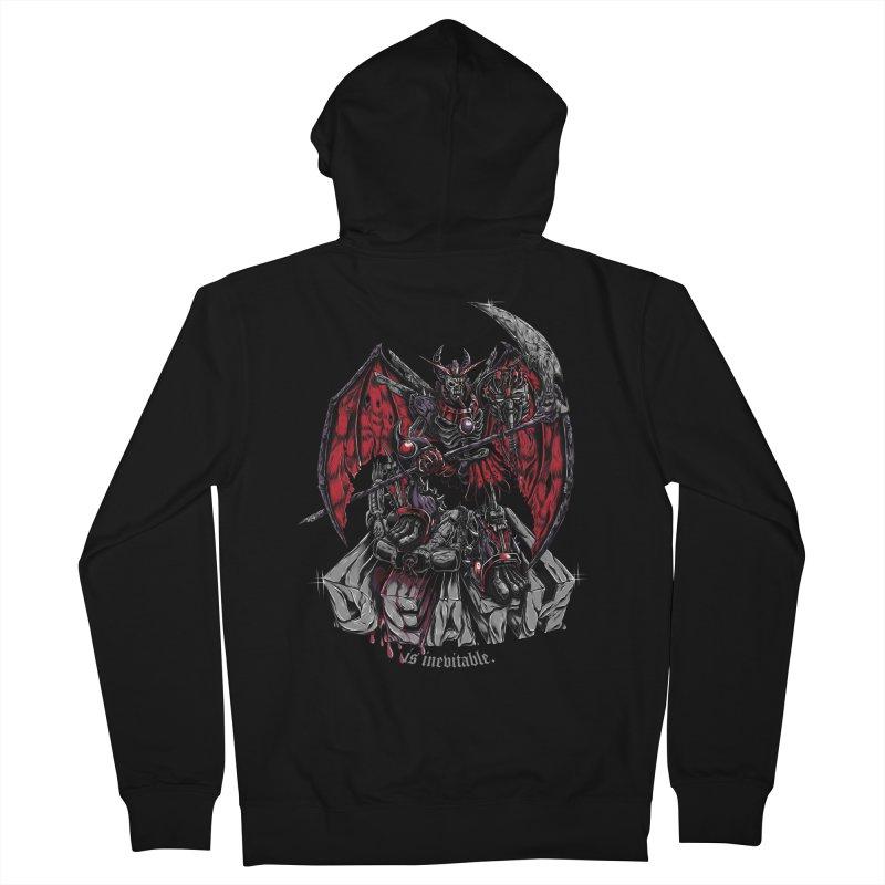 Death Bringer Men's Zip-Up Hoody by mewtate's Artist Shop