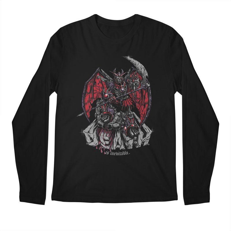 Death Bringer Men's Longsleeve T-Shirt by mewtate's Artist Shop