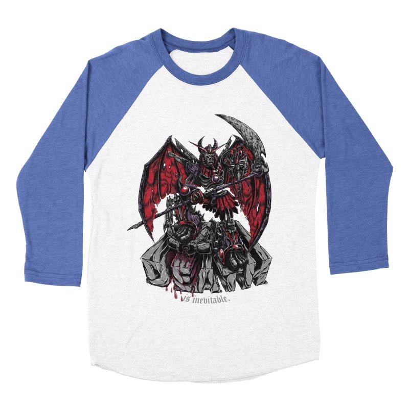Death Bringer Men's Baseball Triblend T-Shirt by mewtate's Artist Shop