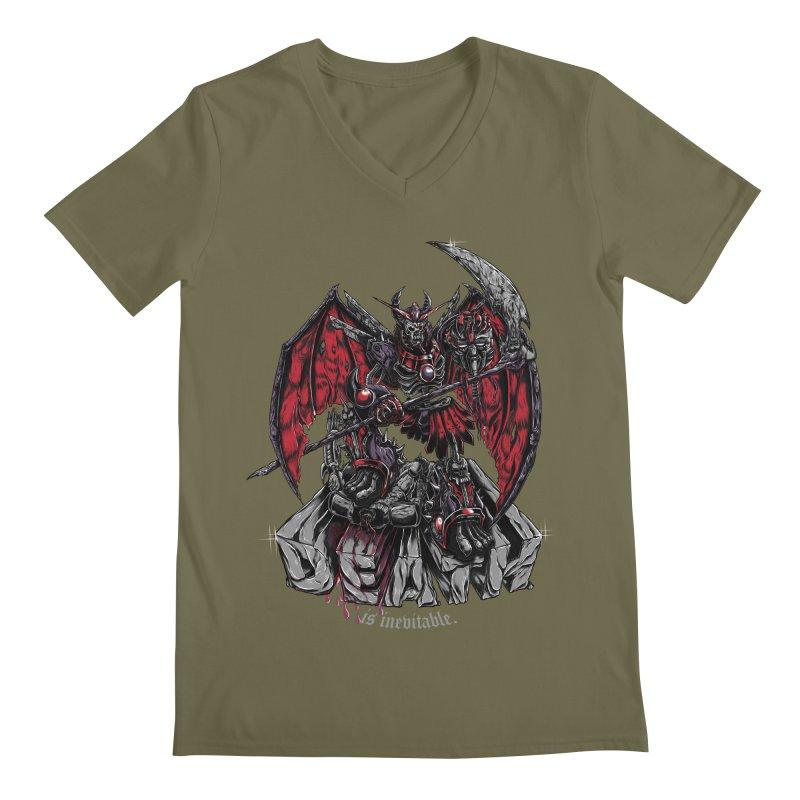 Death Bringer Men's V-Neck by mewtate's Artist Shop